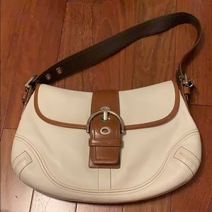 Coach Shoulder Purse with matching wallet/mini bag